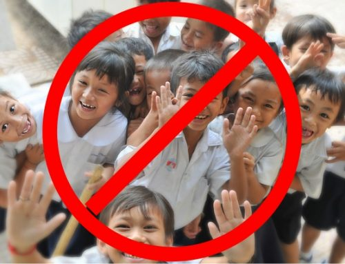 Kinder verboten!